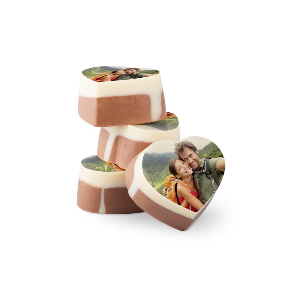 Belgiska chokladpraliner med foto på Image