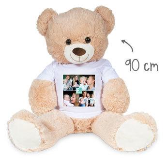 Mjuk teddybjörn med foto Image