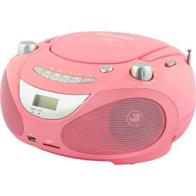 Champion Boombox CD/Radio/MP3/USB Pink Image
