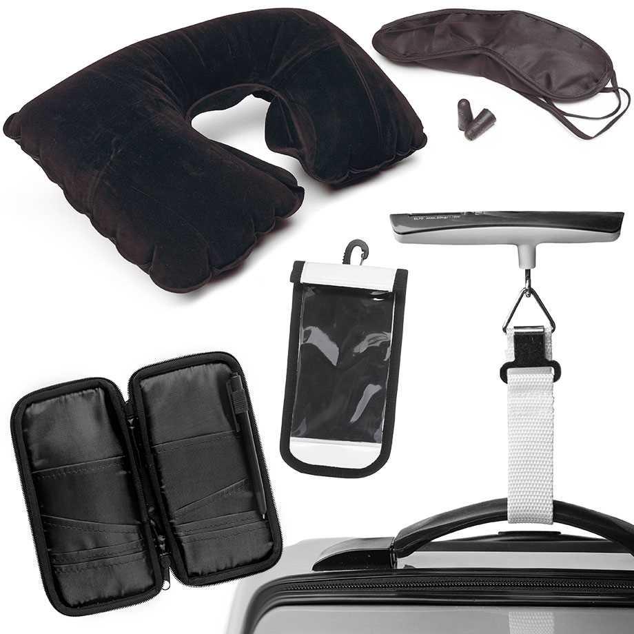 Resekit - Nackkudde, ögonmask & öronproppar Image