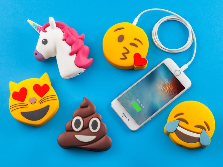 Spralla® Smiley Powerbank Image