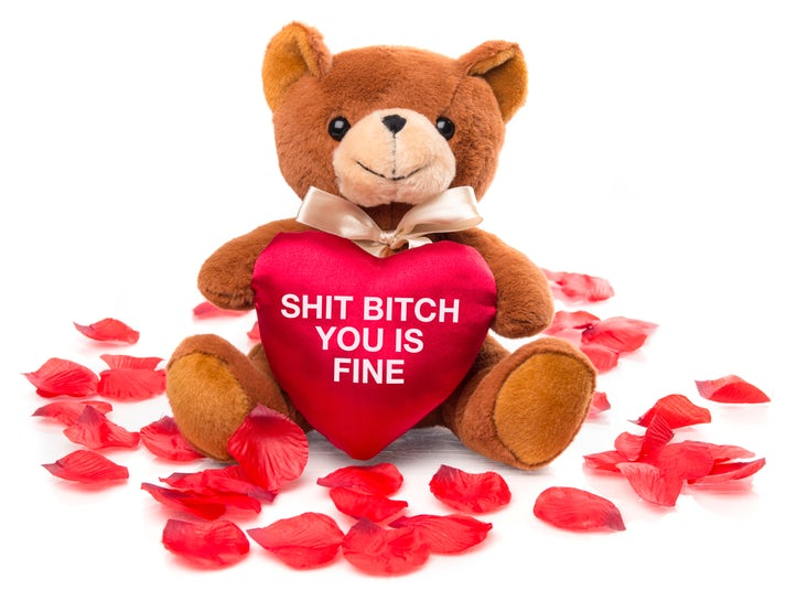 Sh*t B*tch You Is Fine Teddybjörn Image