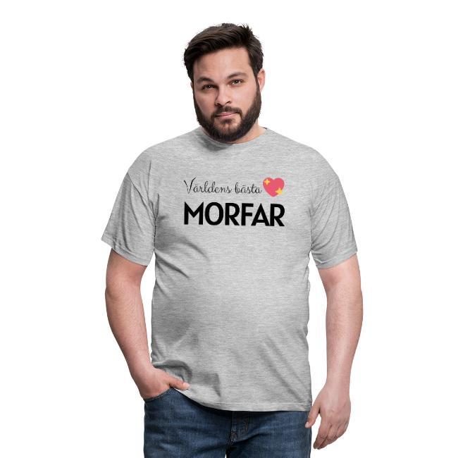 T-shirt herr - Världens bästa morfar Image