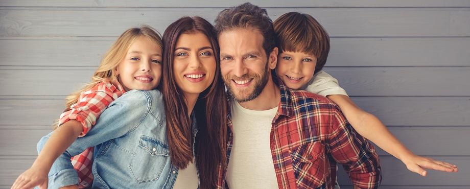 Familjeporträtt Image