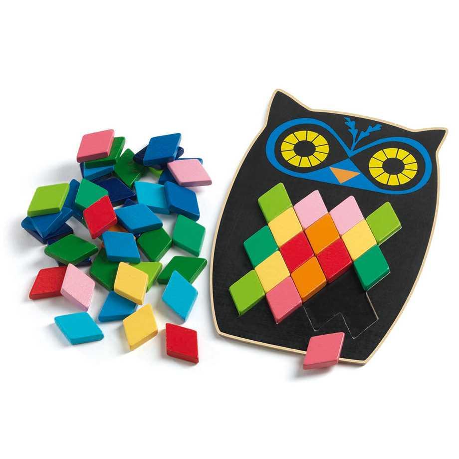Mosaikpussel - Uggla, Moza Boo Image