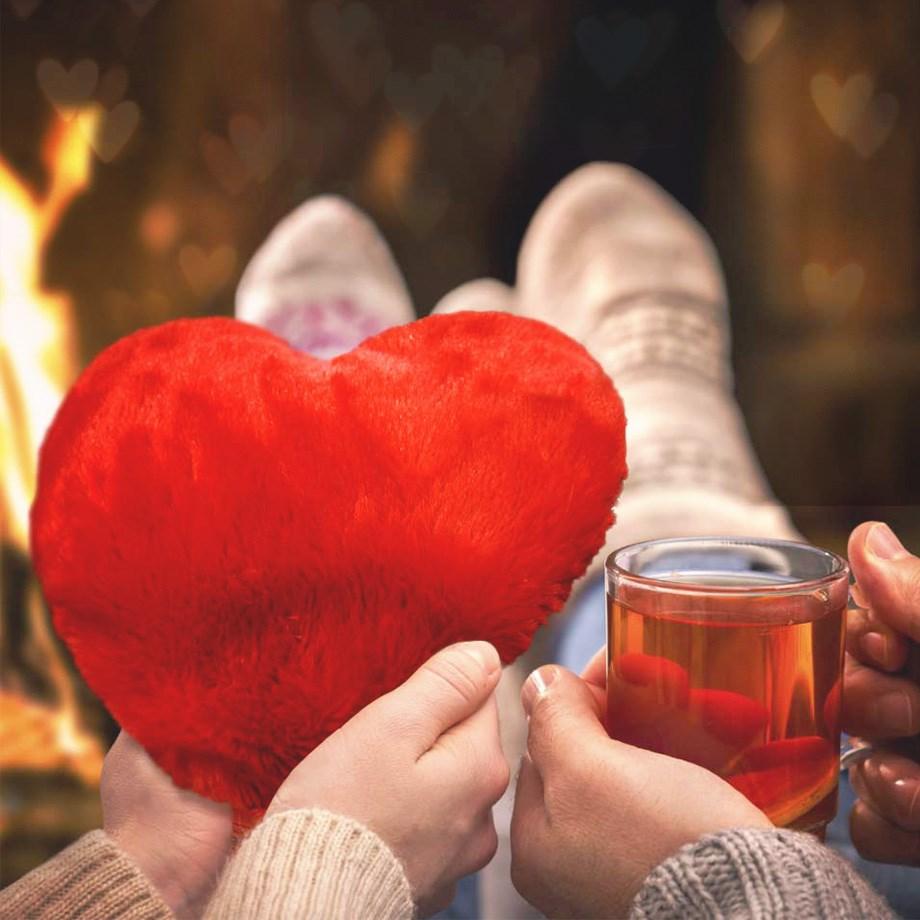 Värmekudde - Värmande hjärta Image