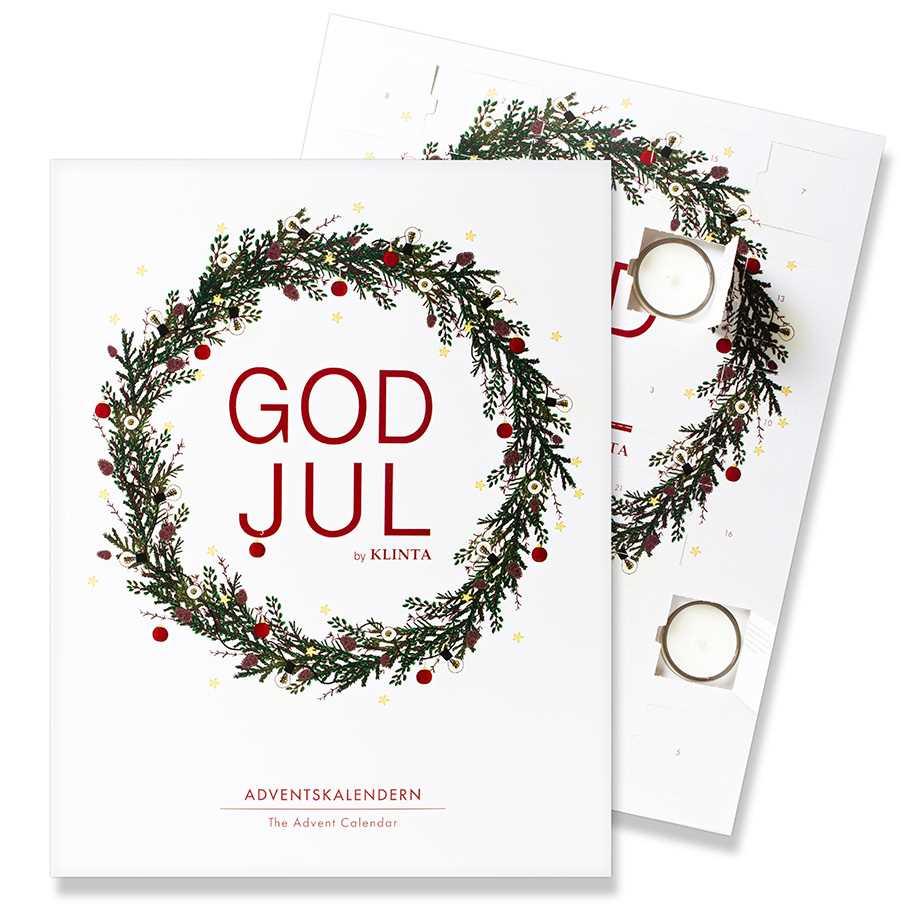 Adventskalender med doftljus - Klinta Image
