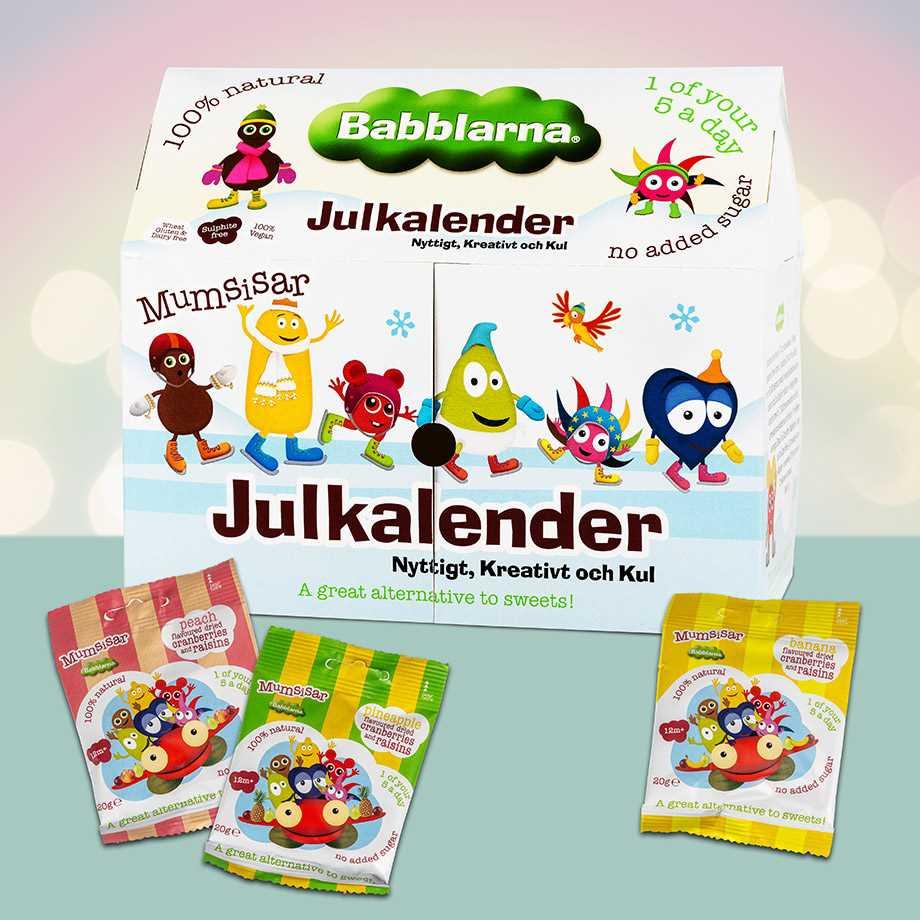 Babblarna Julkalender 2020 - Mumsisarnas adventskalender Image