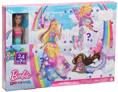 Barbie Docka Fairytale Advent Calendar Image