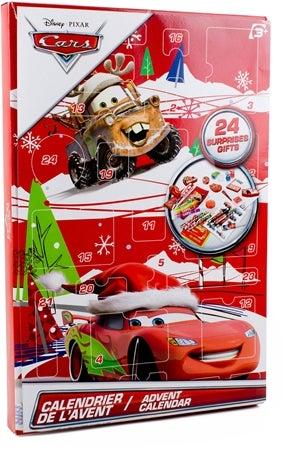 Disney Cars Adventskalender Skrivbordsmaterial Image