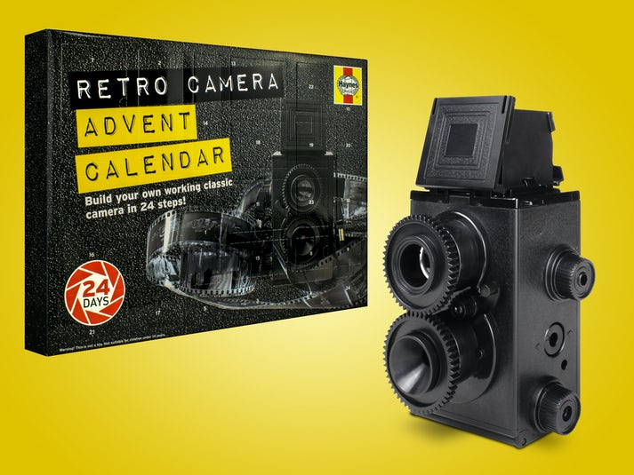Haynes DIY Retro Camera Adventskalender Image