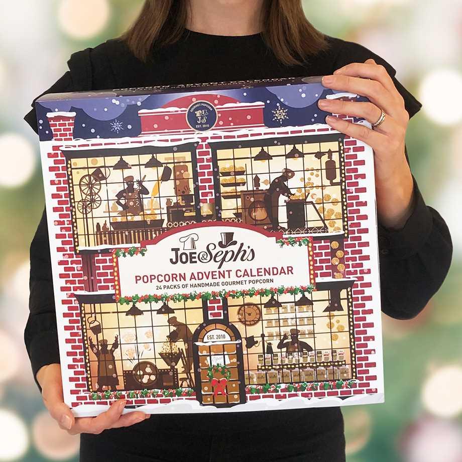 Joe & Seph's Popcorn Adventskalender - Blå Image