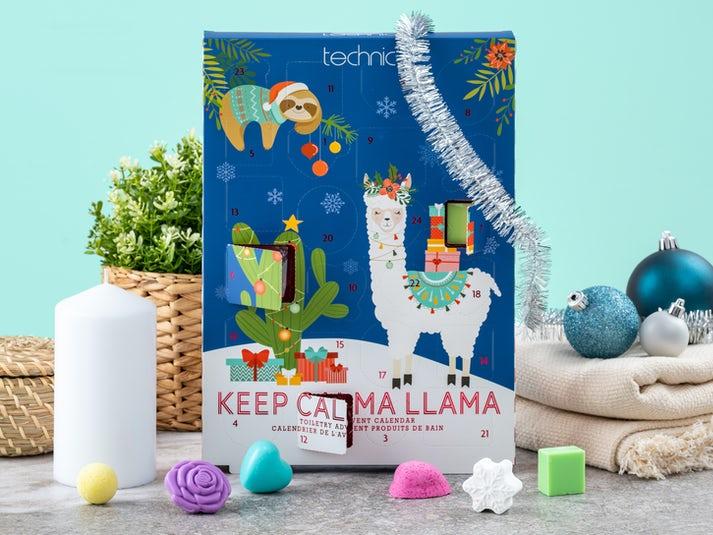 Keep Calma Llama Badkalender Image