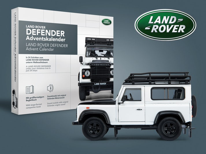 Land Rover Defender Adventskalender Image