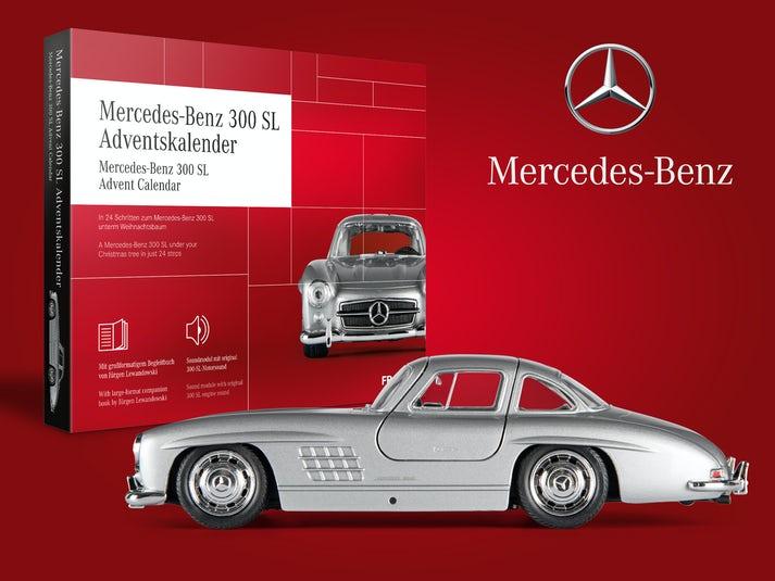 Mercedes-Benz 300 SL Adventskalender Image