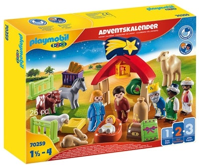 Playmobil Adventskalender Jul Krubba Image