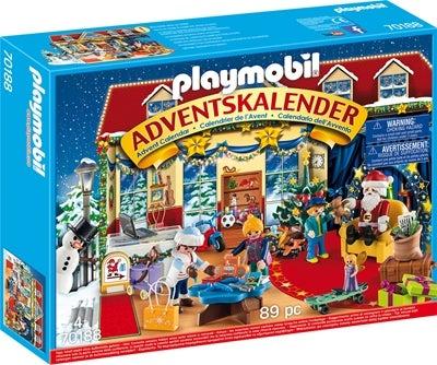 Playmobil Adventskalender Julafton I Leksaksbutiken Image