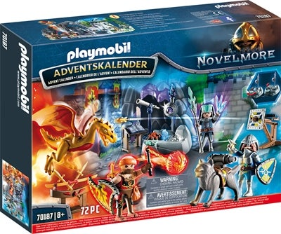 Playmobil Adventskalender Kampen Om Den Magiska Stenen Image