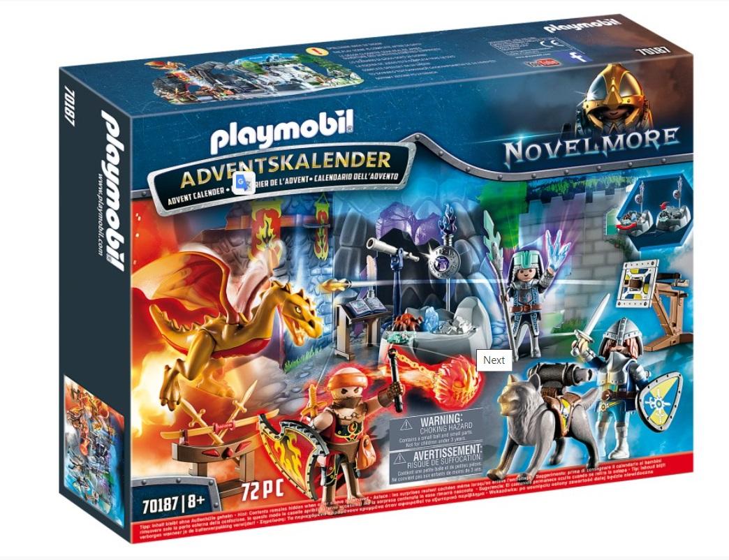 Playmobil Knights - Adventskalender Kampen om den magiska stenen Image