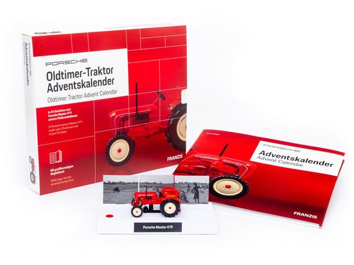 Porsche Traktor Adventskalender Image