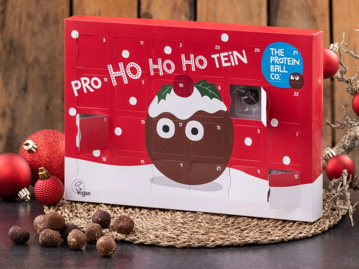 The Protein Ball Co. Vegansk Adventskalender Image