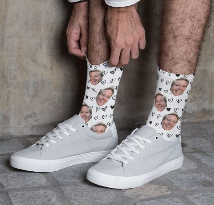 Unika strumpor med ditt egna tryck Image