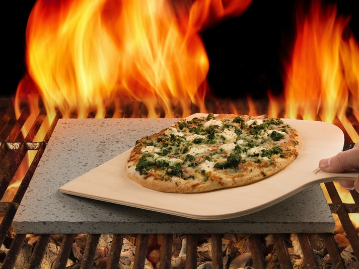 Pizzasten Av Lava Från Etna Image