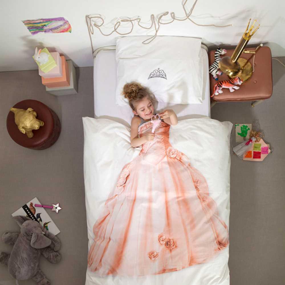 Snurk sängkläder - Prinsessa Image