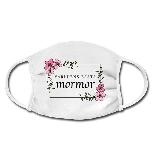 Ansiktsmask - Världens bästa mormor Image