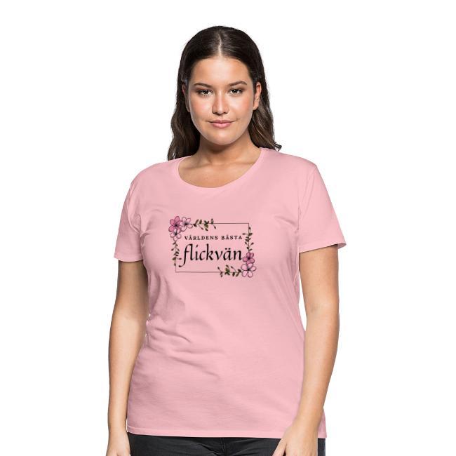 T-shirt dam - Världens bästa flickvän Image