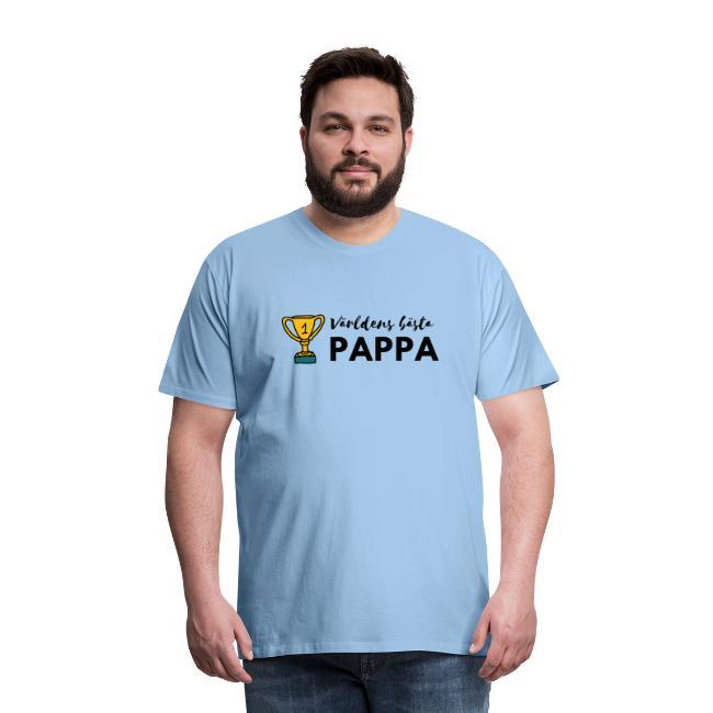 T-shirt herr - Världens Bästa Pappa Image