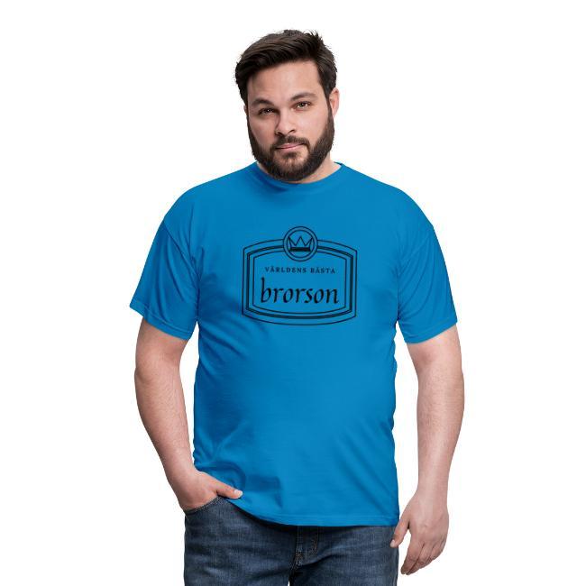 Världens bästa brorson - T-shirt herr Image
