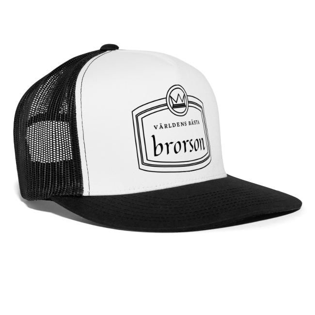Världens bästa brorson - Trucker Cap Image