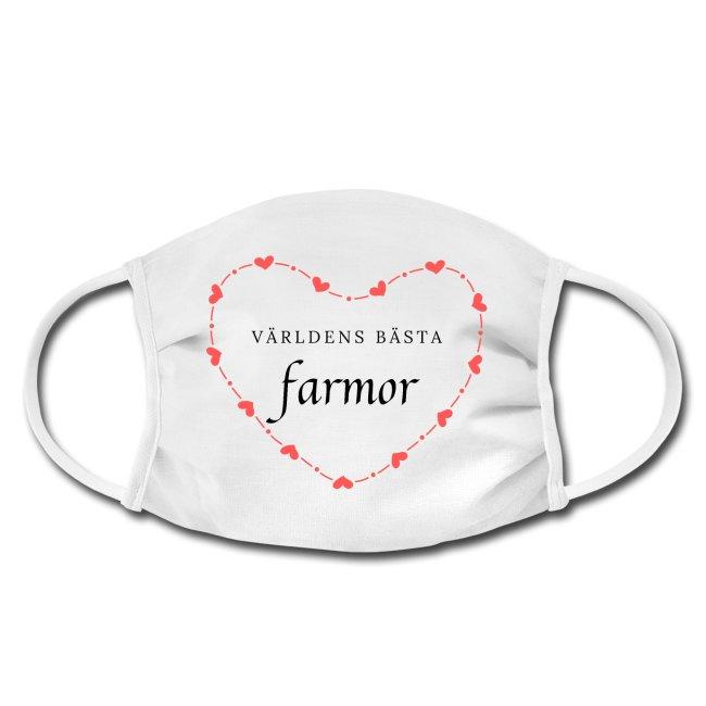 Världens bästa farmor - Ansiktsmask Image