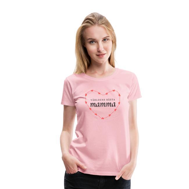 Världens bästa mamma - Premium-T-shirt dam Image