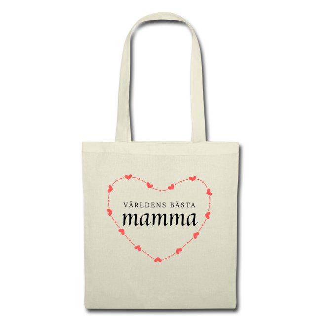 Världens bästa mamma - Tygväska Image