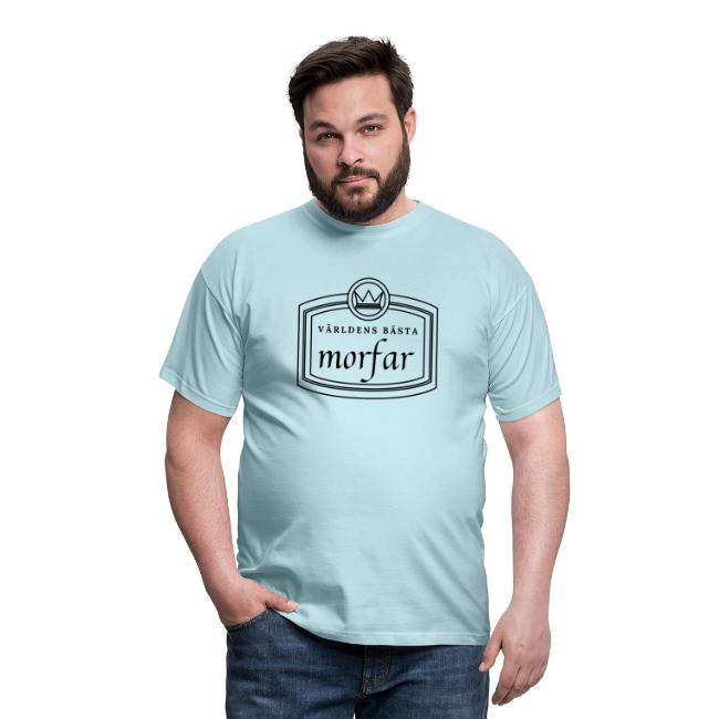 Världens bästa morfar - T-shirt herr Image