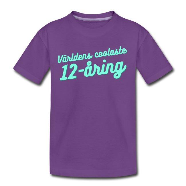 Världens coolaste 12-åring - T-shirt Image