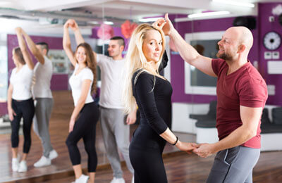 Danslektion för två Image