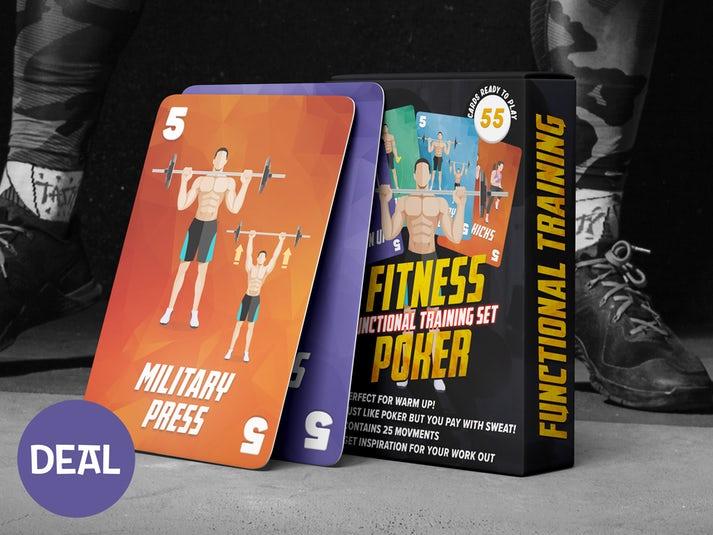 Fitness Poker Kortspel Image