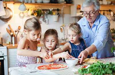 Italiensk matlagning för hela familjen Image