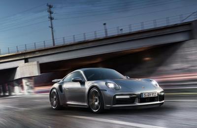 Provkör Porsche 911 992 Turbo S Image