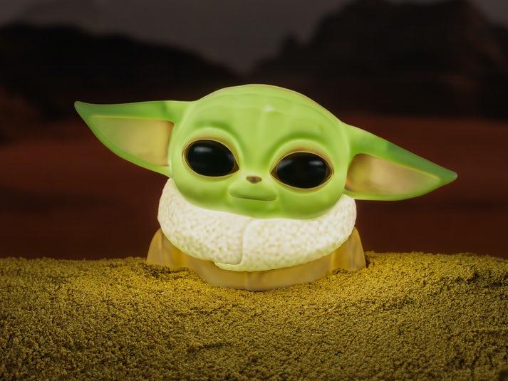 Star Wars Baby Yoda Lampa Image