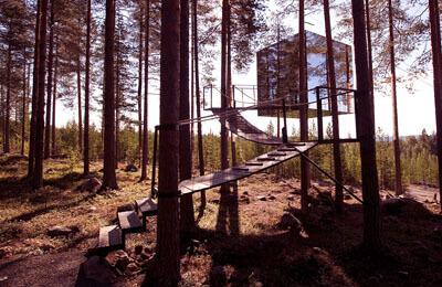 The Mirrorcube - Treehotel för Två Image