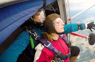 Hoppa fallskärm Image